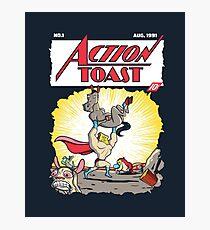 Action Toast Photographic Print