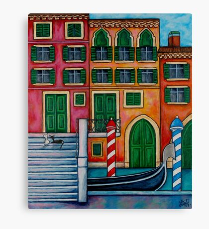 Colours of Venice Canvas Print