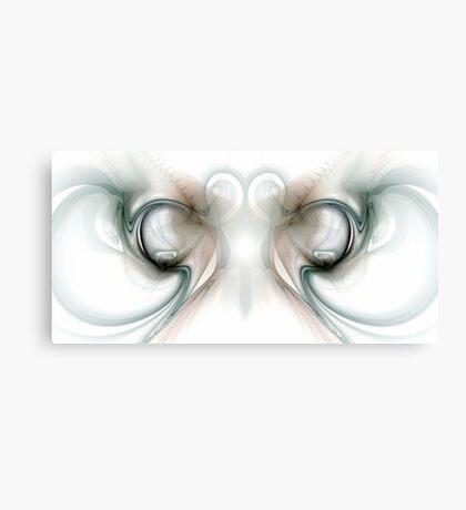 Heart and Smoke Canvas Print