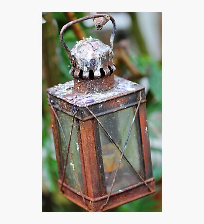 Rusty Lantern Photographic Print
