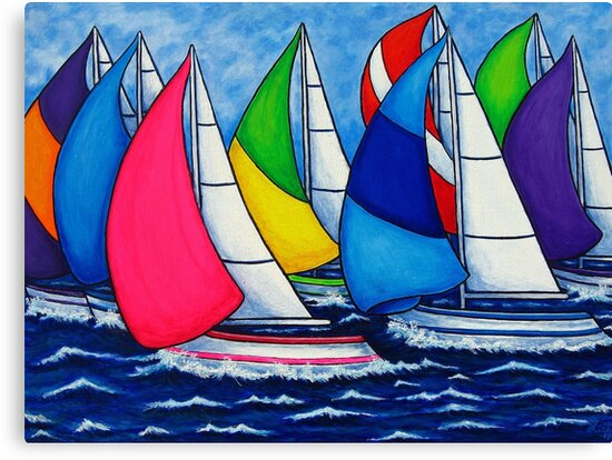 Colourful Regatta by LisaLorenz