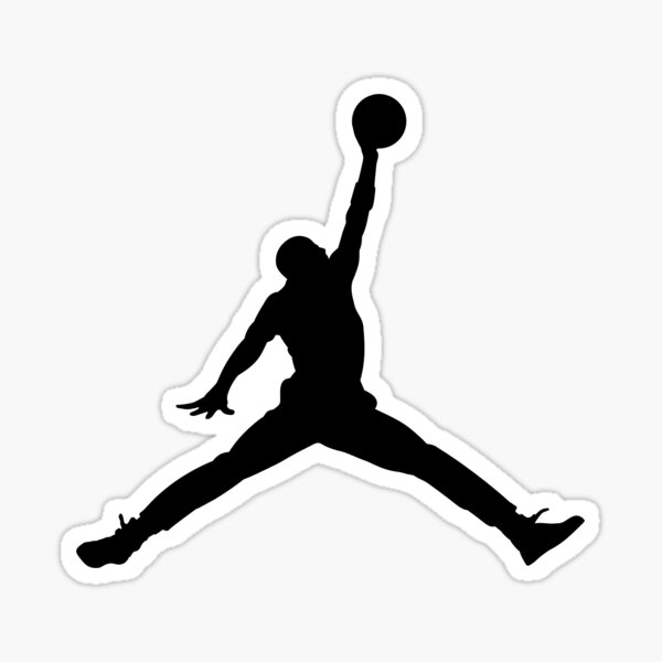 Jumpman  Sticker