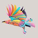 The bird  by hotamr