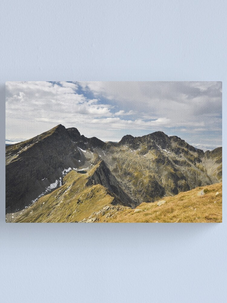 Alternate view of Transylvanian Alps Canvas Print