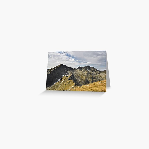 Transylvanian Alps Greeting Card