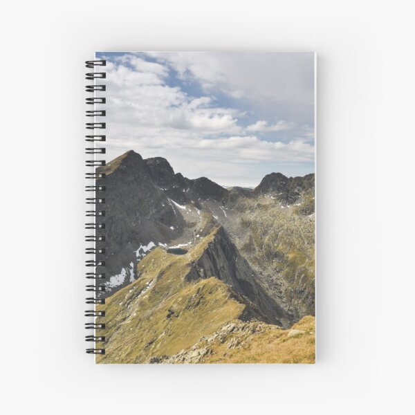 Transylvanian Alps Spiral Notebook