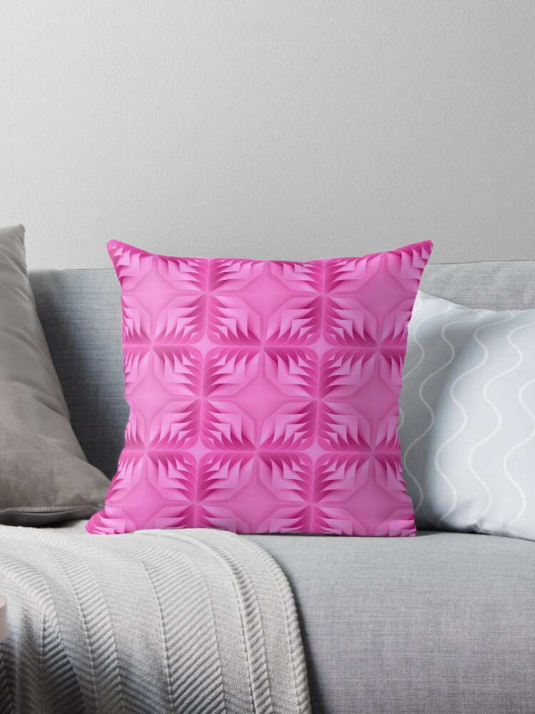 Curly Paper Pink Purple shades pattern by MDeAngelis