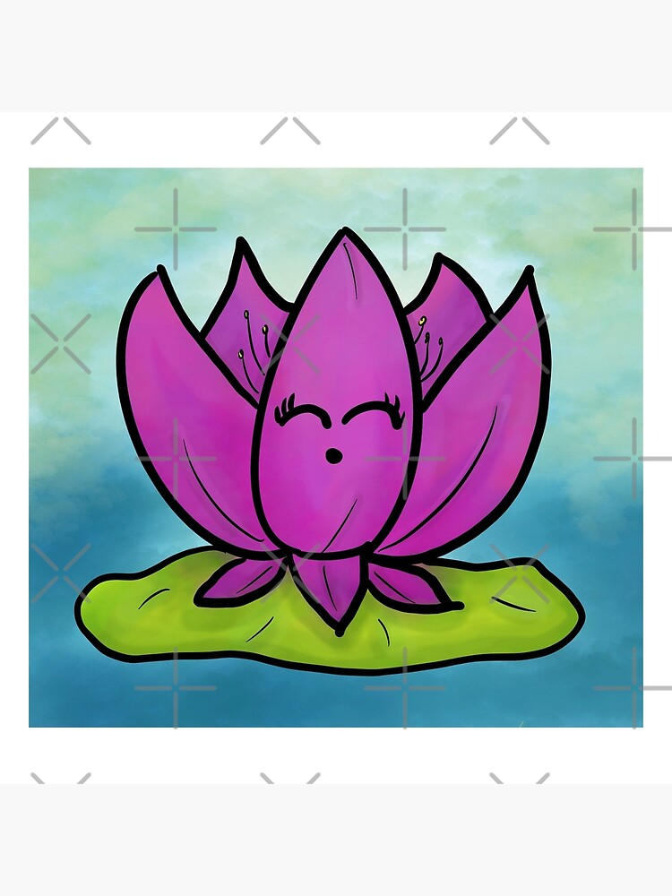 View Lotus Flower Cartoon Drawing Pictures