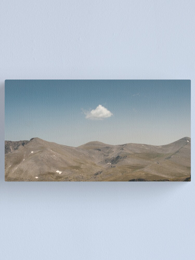 Alternate view of Cloud Canvas Print