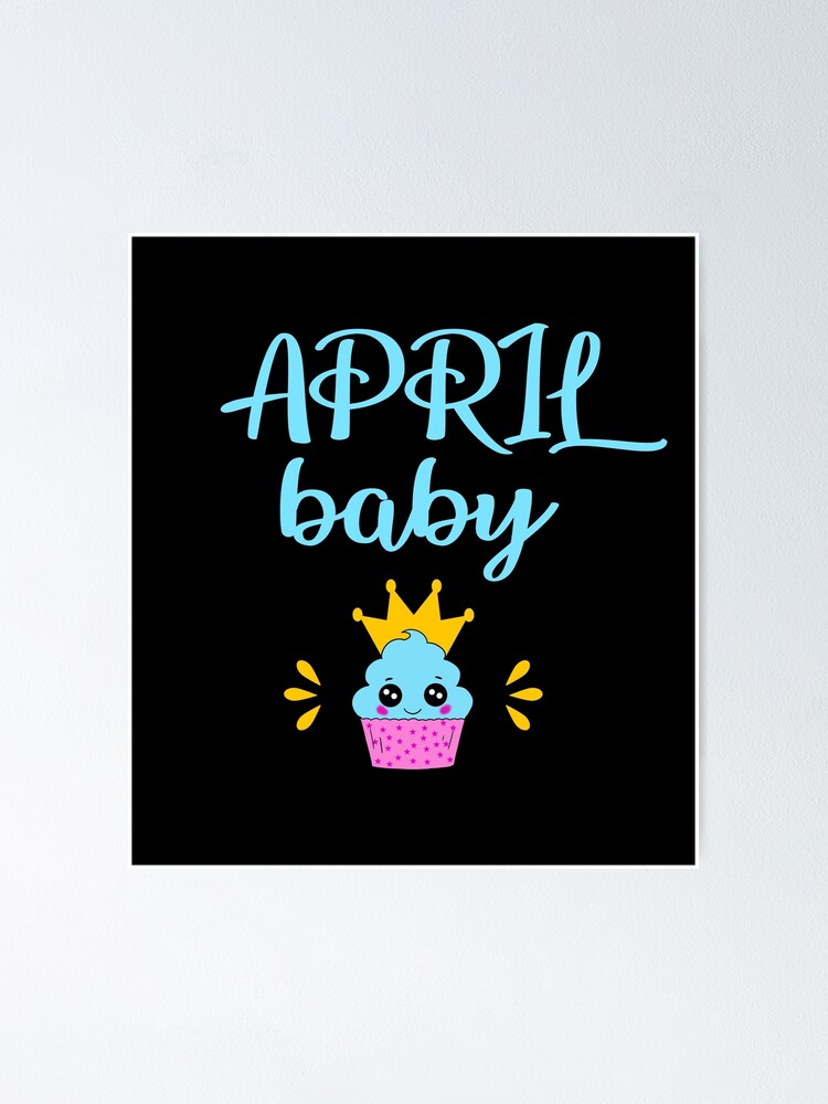Tremendous April Baby This Princess Was Born In March Funny Blue Quote Birthday Cards Printable Trancafe Filternl