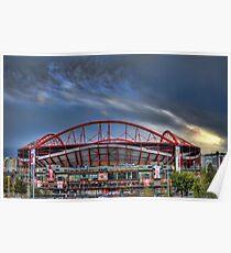 Benfica Stadium Poster