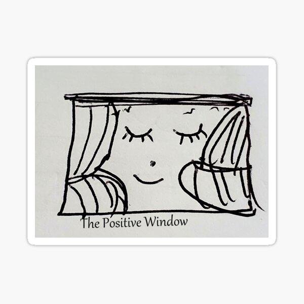 The Positive Window Sticker