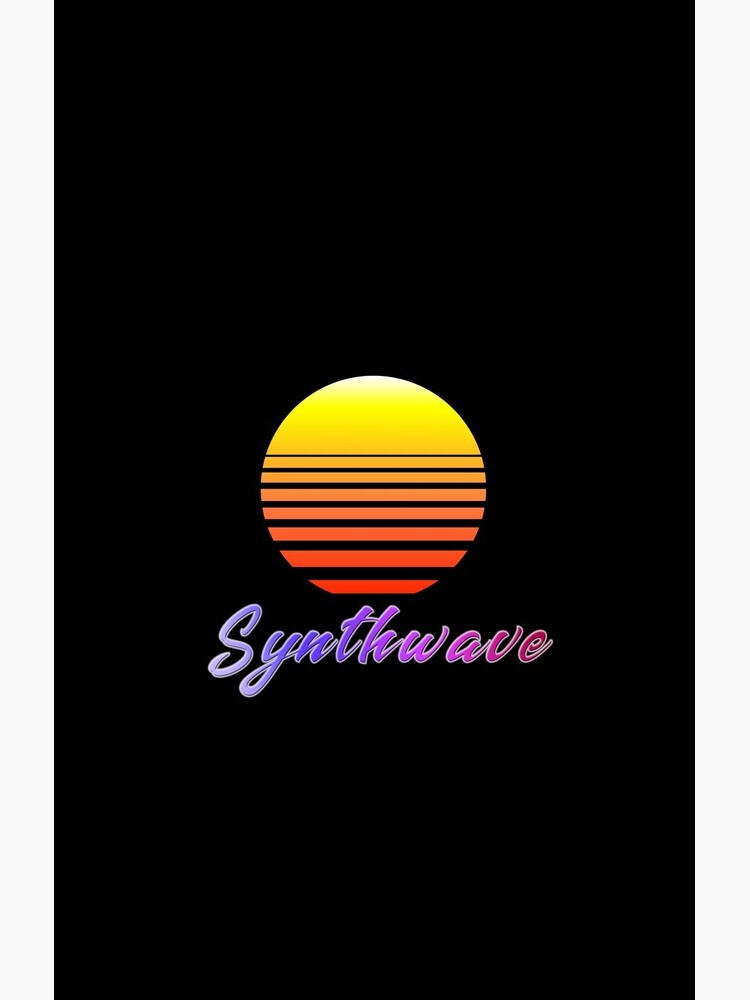 Synthwave Sun by GaiaDC