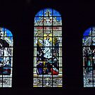 Windows in Trinity Church. by Lee d'Entremont