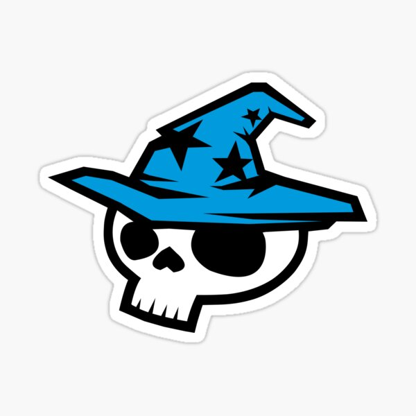 Blue Wizard Digital Sticker