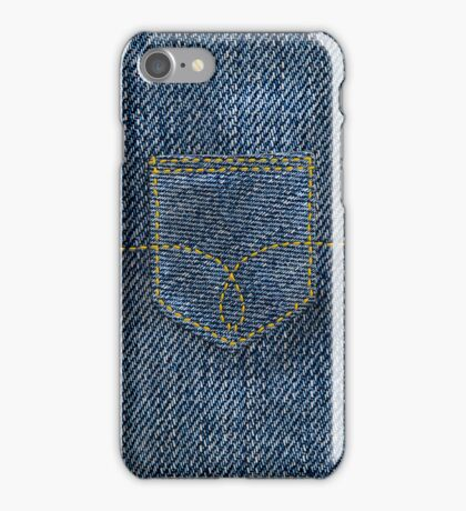 Denim Pocket iPhone Case/Skin