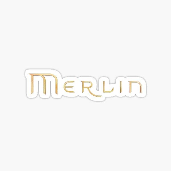 Merlin text Sticker