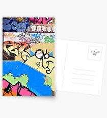 Graffiti steps 2. Postcards