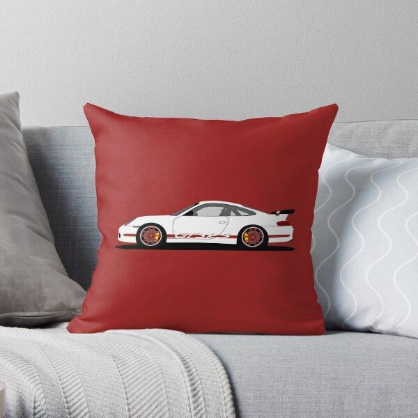 Porsche 911 996 GT3 RS Throw Pillow