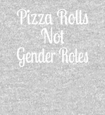 Pizza Rolls Not Gender Roles Kids Pullover Hoodie