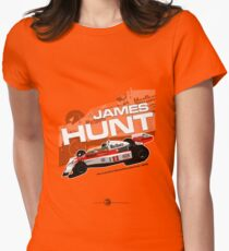 James Hunt - F1 1976 Womens Fitted T-Shirt