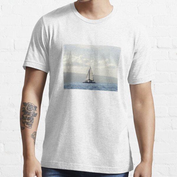 Maui Sailboat Photography Essential T-Shirt