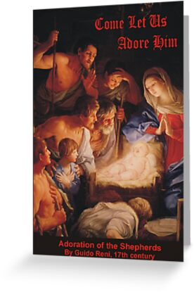 Guido Reni's Adoration of the Shepherds by Harveylee