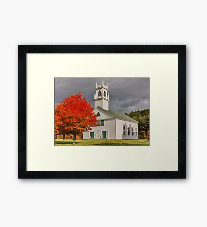 New Hampshire Framed Print