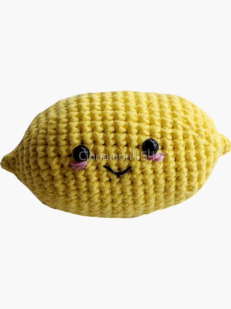 Adorable Crochet Lemon by Cinnamon454