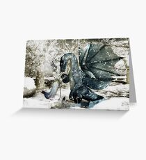 Gift of Friendship for Christmas Greeting Card