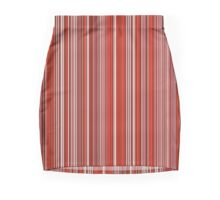 Many colorful stripe pattern in red on Pencil Skirts by pASob-dESIGN | Redbubble