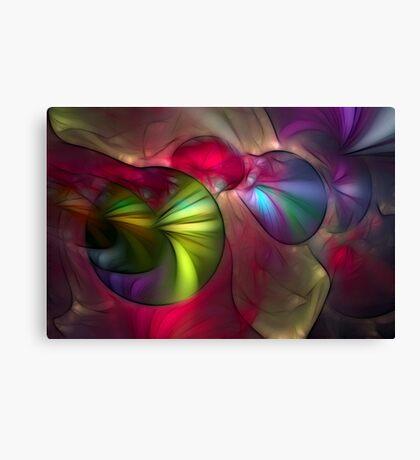 Multicolored Roundelay Canvas Print