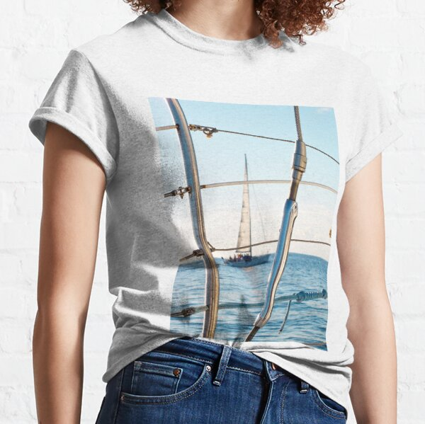 Maui Sailboat Photography Classic T-Shirt