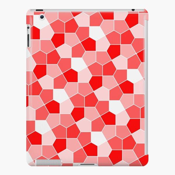 Cairo Pentagonal Tiles Red iPad Snap Case