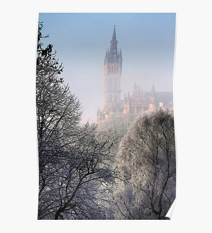 Kelvingrove Winter (3) Poster