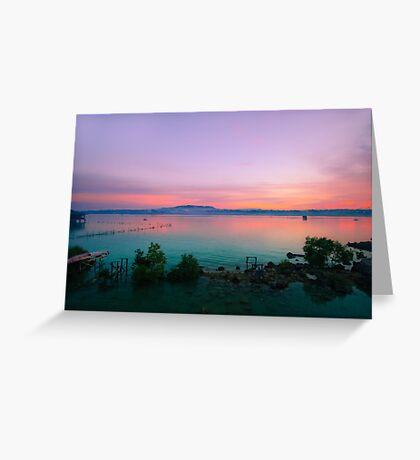 Tagbilaran Sunset 2.0 Greeting Card