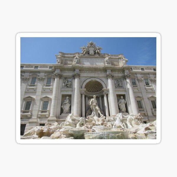 Trevi Fountain Italy Photography Sticker