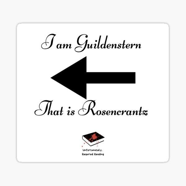 I am Guildenstern  Sticker