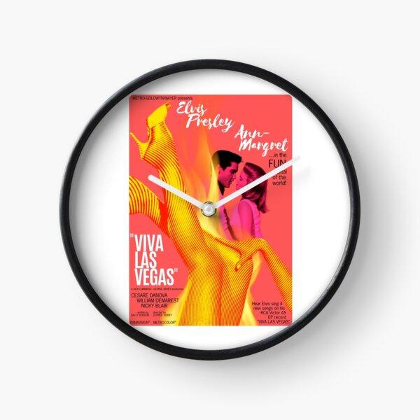 Viva Las Vegas (1964) - Filmplakatdesign Uhr