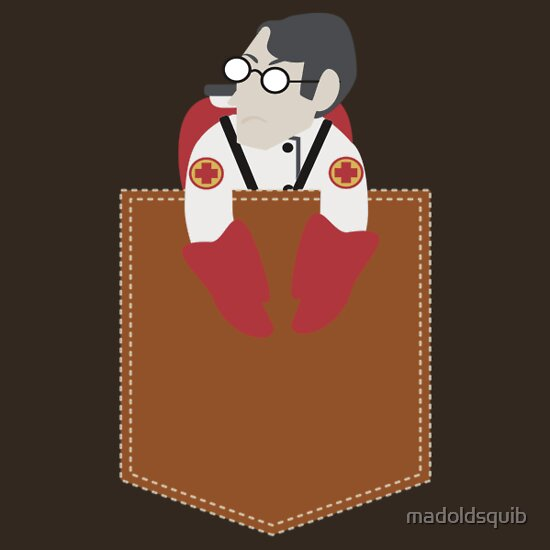 TShirtGifter presents: (TF2) Pocket Medic