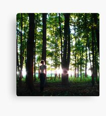 In Characteristic Form Canvas Print