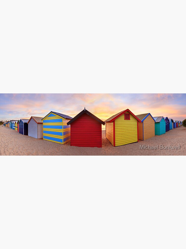 Brighton Beach Boxes, Melbourne, Victoria, Australia by Chockstone