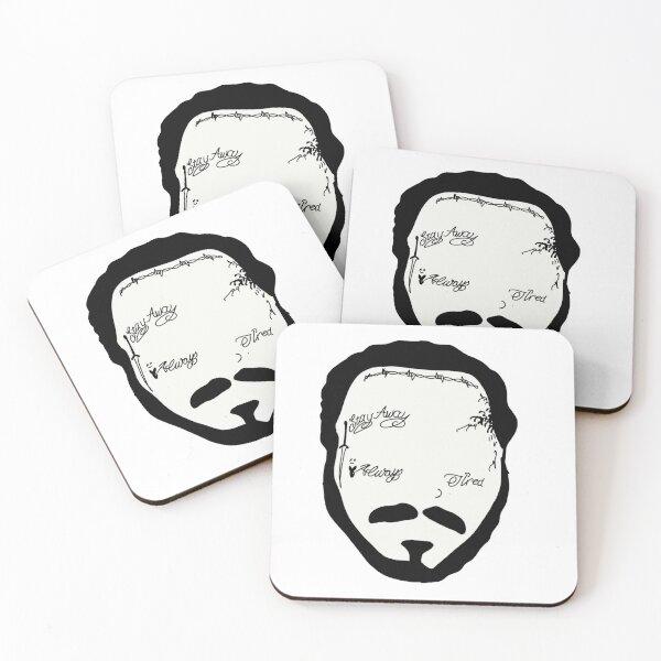 Post malone Coasters (Set of 4)