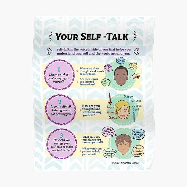 Mindfulness Poster - Copings skills -  Self Talk Poster