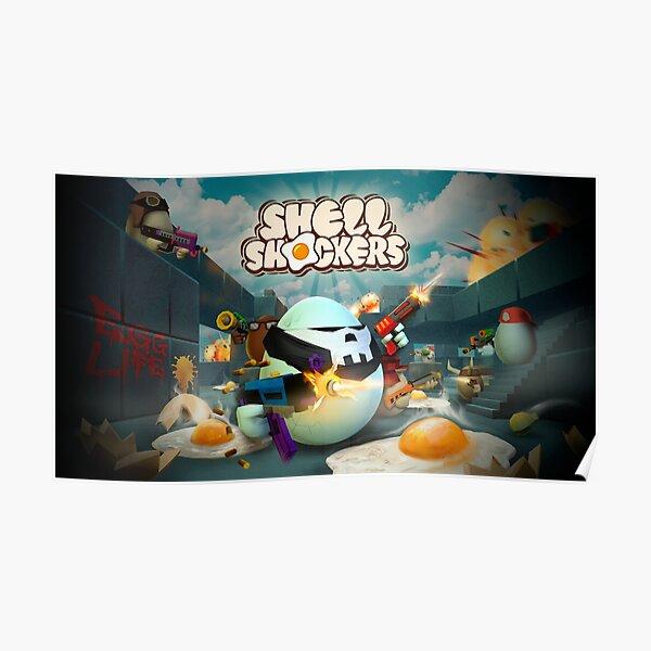 Shell Shockers Key Art Poster