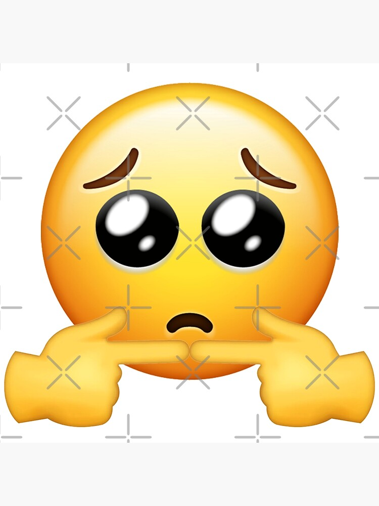 Shy Face With Sucking Finger Emoji
