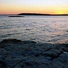 Ocean Point Sunset by EvaMcDermott