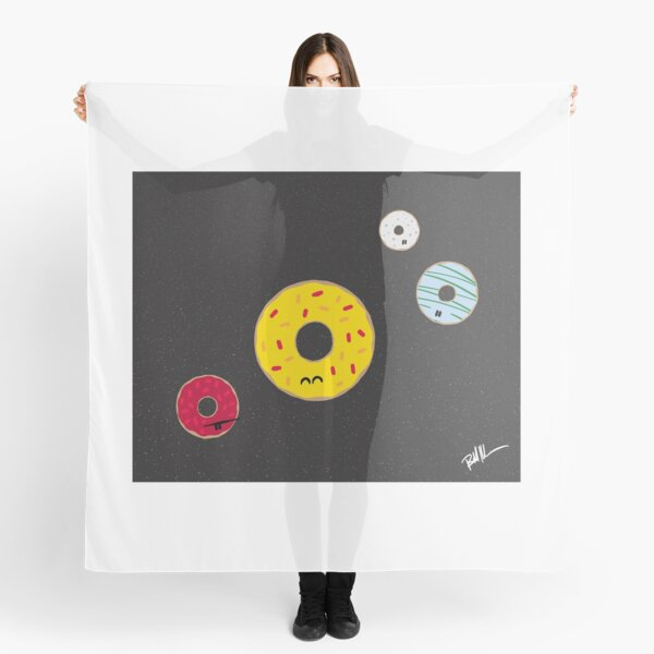 Donut Planets Scarf