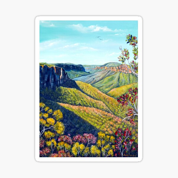 Govetts Leap, Blue Mountains Sticker