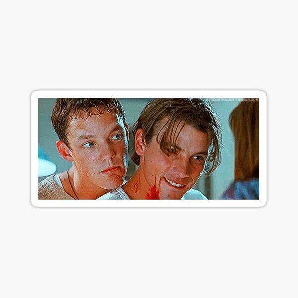 billy loomis and stu Sticker